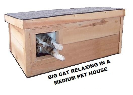 outdoor cat shelter from The Ark Workshop